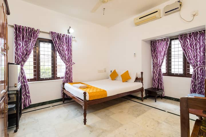 Air Conditioned Deluxe Double Room at Fort Cochin