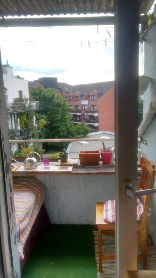 View from the sweety balcon