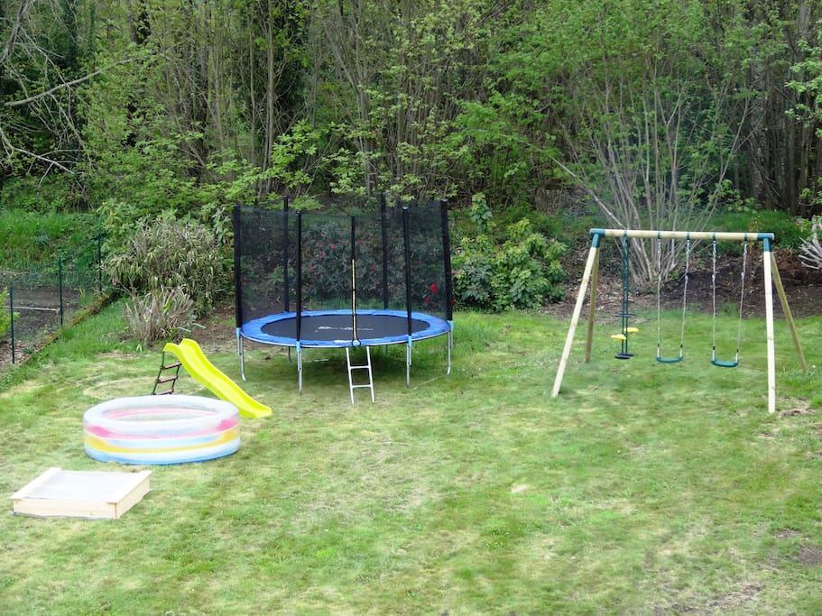 L'aire de jeux pour les enfants