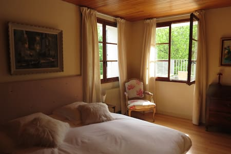 Chambre d'hôtes Chambre Pomme - Ларань-Монтеглен