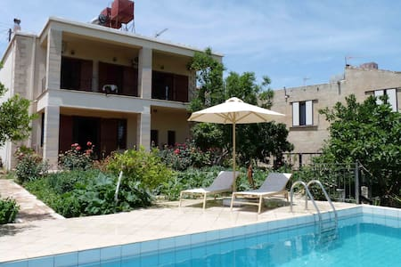 The Garden Villa - Baxes - Chania