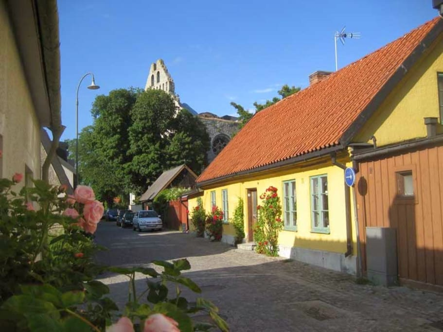 Street View (Yellow house)