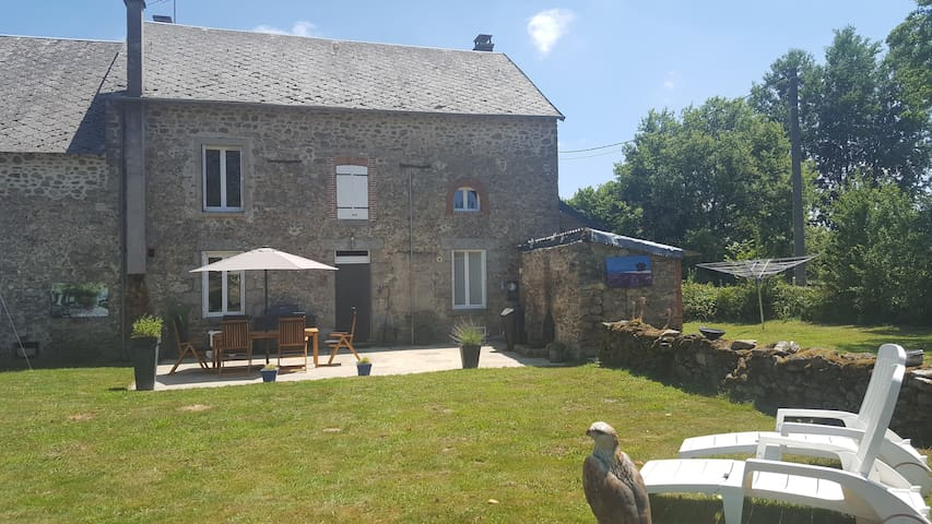 Relaxing in B&B on the countryside Limousin France