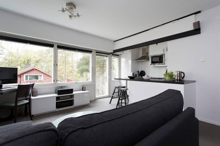 Modern 2R flat, 15min to Helsinki