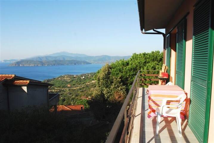 Appartamento Capoliveri, vista mare