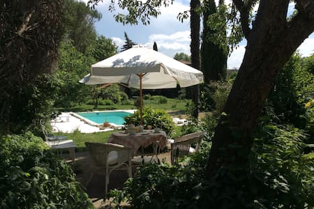 Cosy room in mansion, Swimming pool - Mirepoix - Oda + Kahvaltı