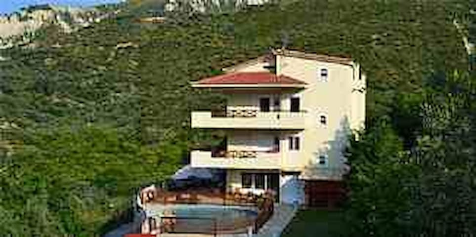 Villa with private pool!! - Riza Xylokastrou - Villa