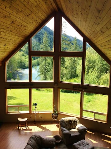 River House *located on the Elwha River*