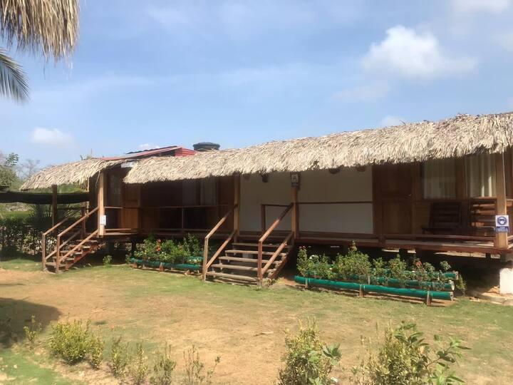 Habitacion tipo cabaña (estrella)💫
