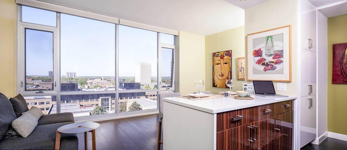 luxury condo in west wellington - Ottawa - Appartement en résidence