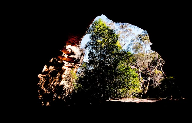 cave by day