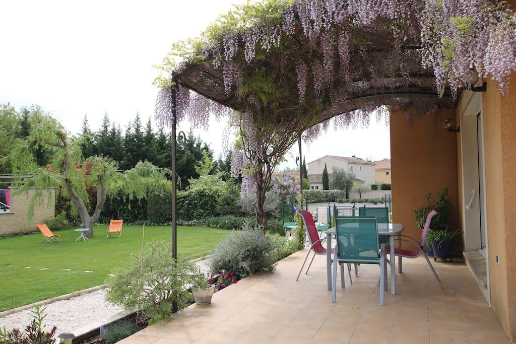 3 chambres 700m2 de jardin maisons louer l 39 isle for Jardin 700m2