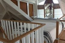 Upstairs Open Bedroom
