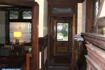 Looking towards entry door.