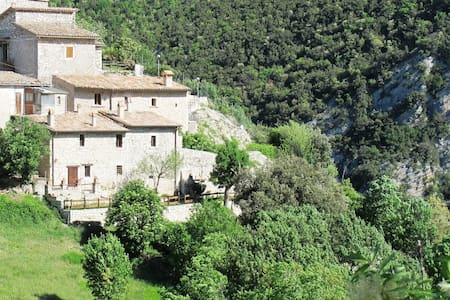 House & garden in ancient village - Castellonalto