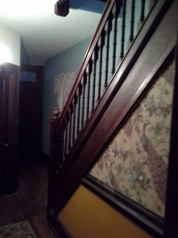 Third floor hallway.
