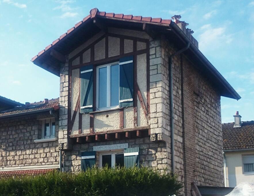 Façade de la maison - Oldfashion house