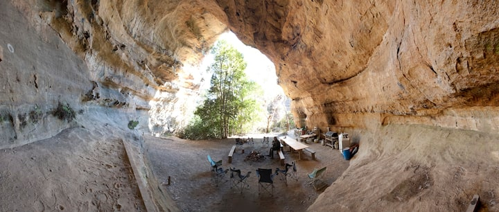 Hatter's Hideout CAVE and Lodge
