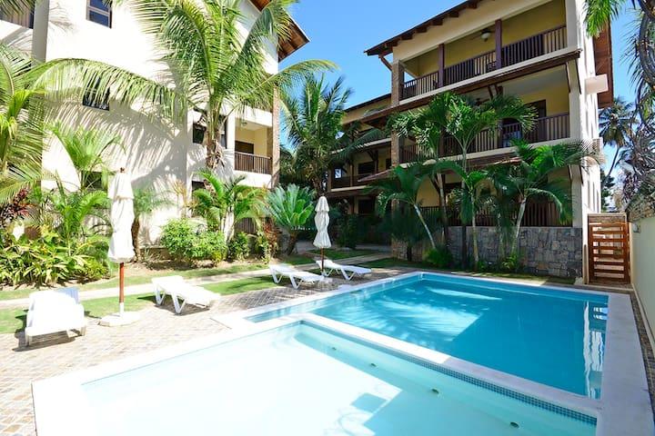 Apartamento familiar en playa de Las Terrenas
