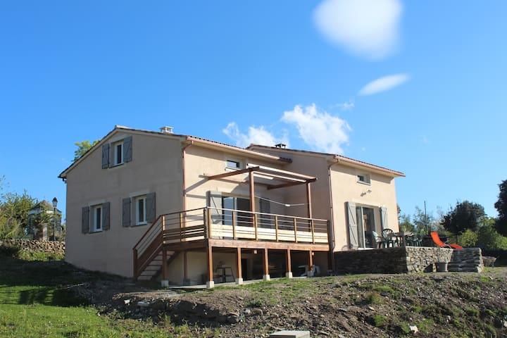 Maison neuve de 70M2 à Prunelli - Prunelli-di-Fiumorbo - House