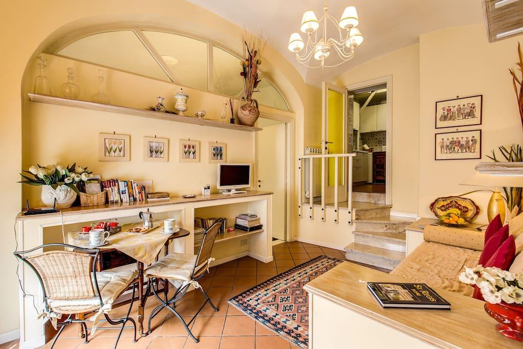 Your trastevere apt welcome home appartamenti in for Affitto uffici roma trastevere