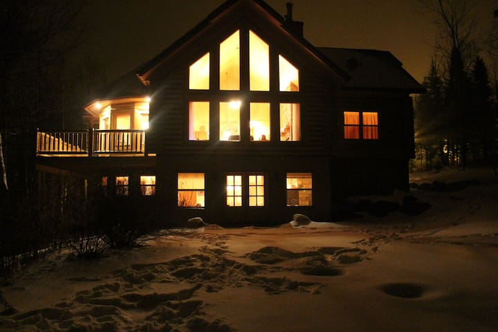 ChaletsOasis Luxury Cozy Log Home Deer6 - Mille-Isles - House