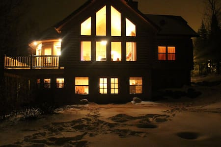 ChaletsOasis Luxury Cozy Log Home Deer6 - Mille-Isles - Ev