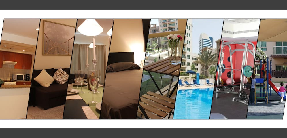 Exotic & Cozy One Bedroom apartment at Greens. - Dubai - Apartamento