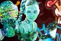 Discover hidden gems like this piece of street art
