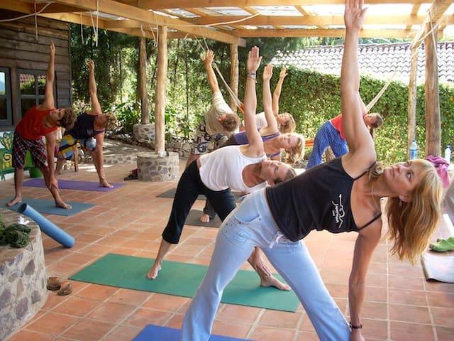 Yoga is available next door.