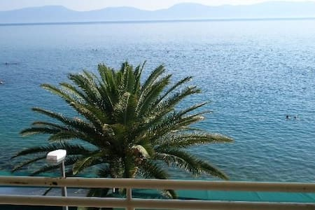 Beautiful first row apartment - Gradac - アパート