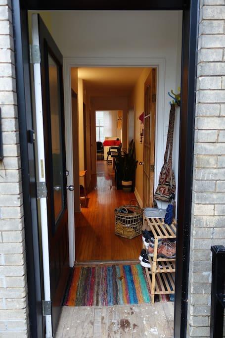 Entrée (porte avant)