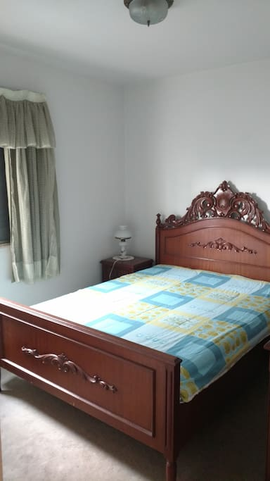 Second room with double bed