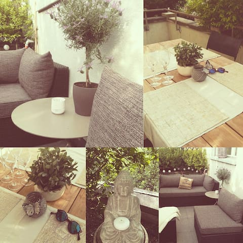 Beautiful two-room flat in Basel - Basel - Apartment