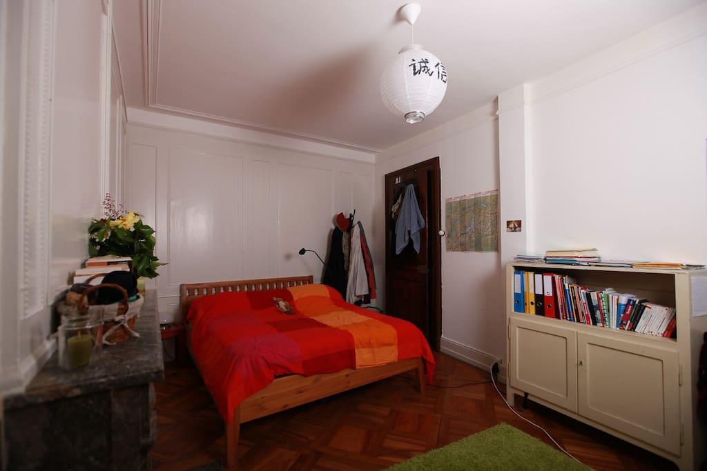 Chambre pour deux personnes