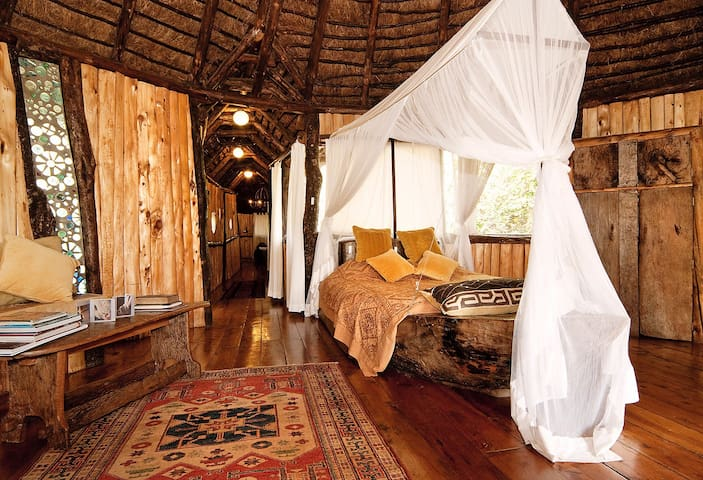 Treehouse at Ngong House on 4ha of nature. Karen