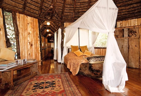 3 Treehouses at NgongHouse  on 4ha of nature Nr3.