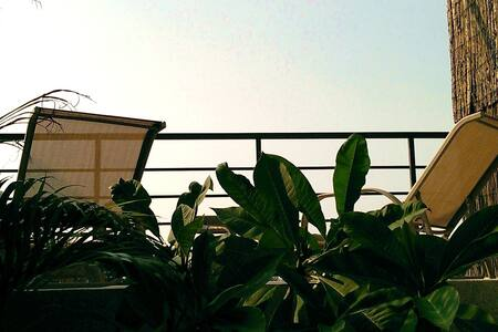 Double Suite-Big Balcony-Anping Fort-beach-Tainan - 安平區