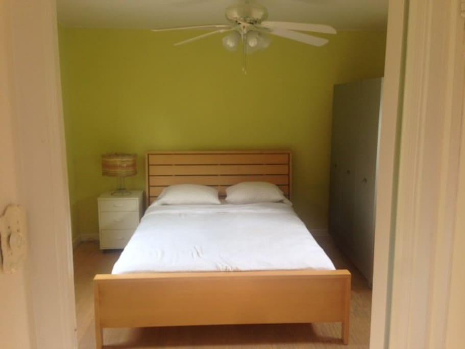 Master bedroom sleeps two