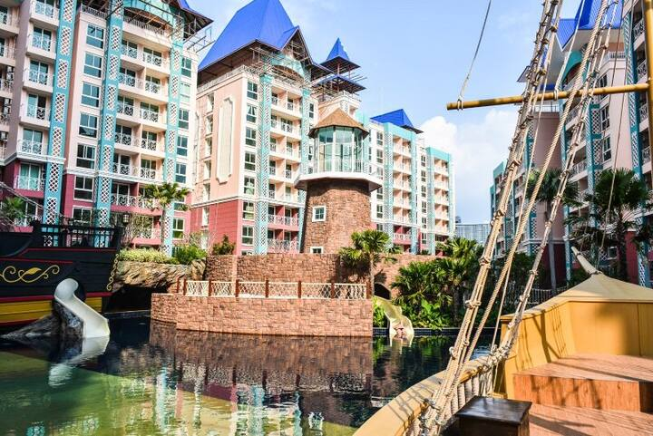 Pattaya Grand Caribbean Resort加勒比海度假村