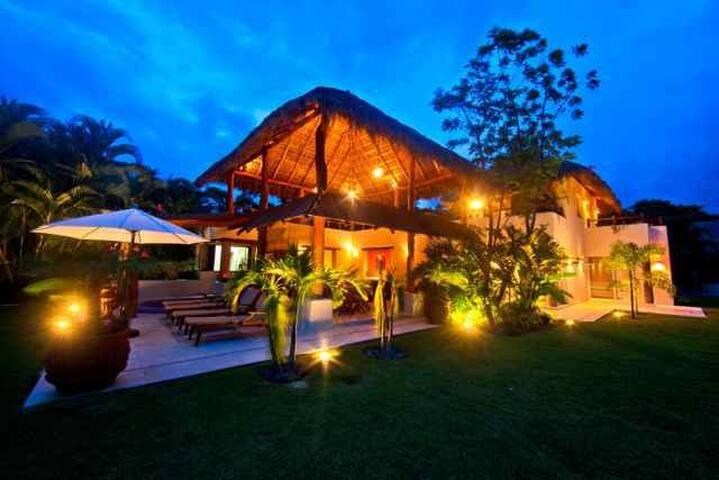 Private Beach Villa Colorin at Marina Chacala