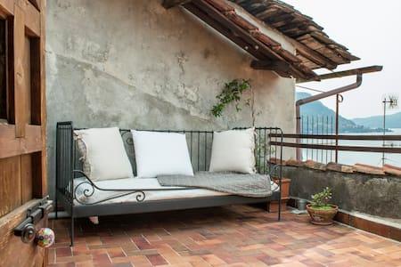 Typical romantic house on Lake Como - House
