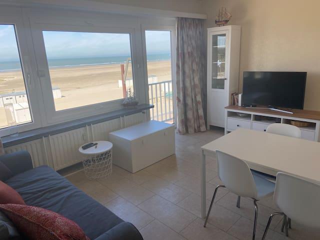 Appartement met zeezicht in Heist
