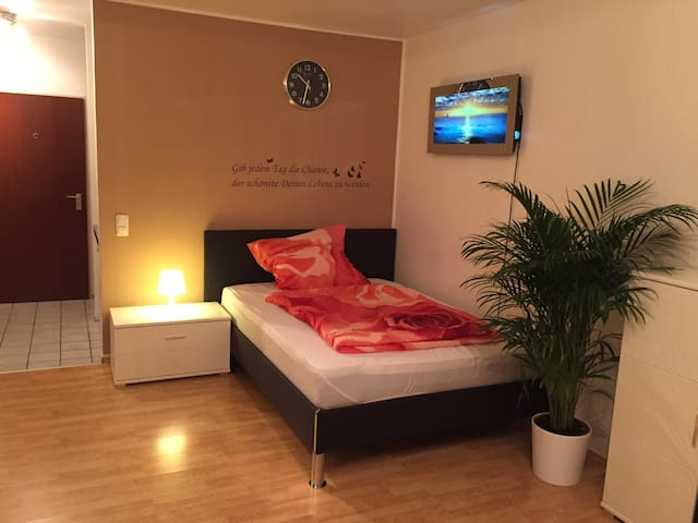 1-Room Apartment with terrace, near Köln (Messe)