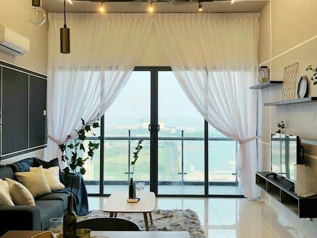 Melaka/Atlantis/Sea-View/Jonker Walk/6Pax/WIFI