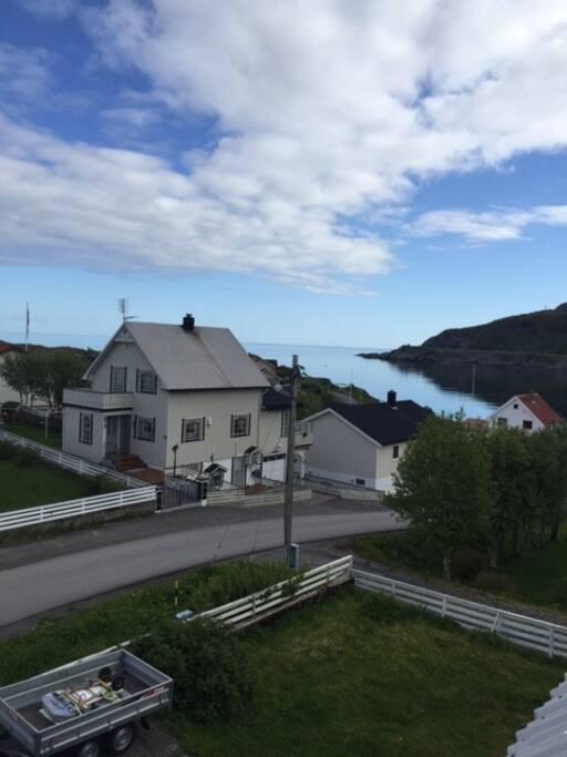 Utsikt mot vestfjorden.