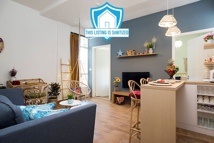 ★ Boho-Chic Cozy Apt in the Heart of Mar Mikhael