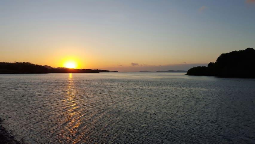 Teak Cabin on the Pacific Ocean Boca Chica, Panama