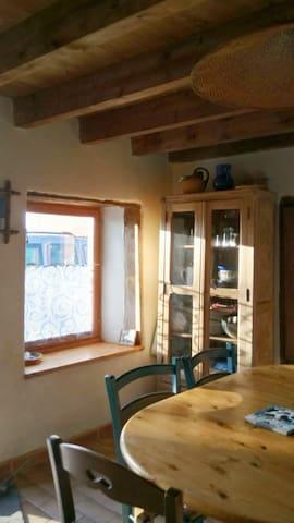 Auvergne, gite confortable avec  jardin 8 places - Beurières - Natur lodge