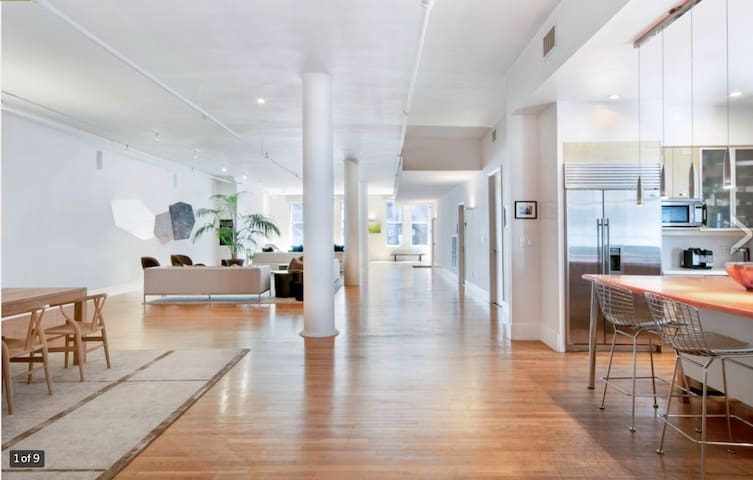 Designer Fifth Ave 4BR 3.5Ba 6,000sf Modern Loft